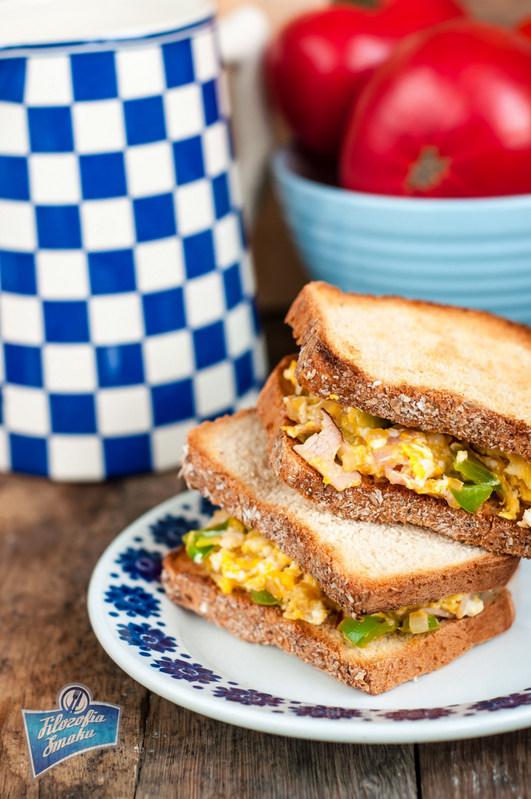 Sandwich z jajecznicą