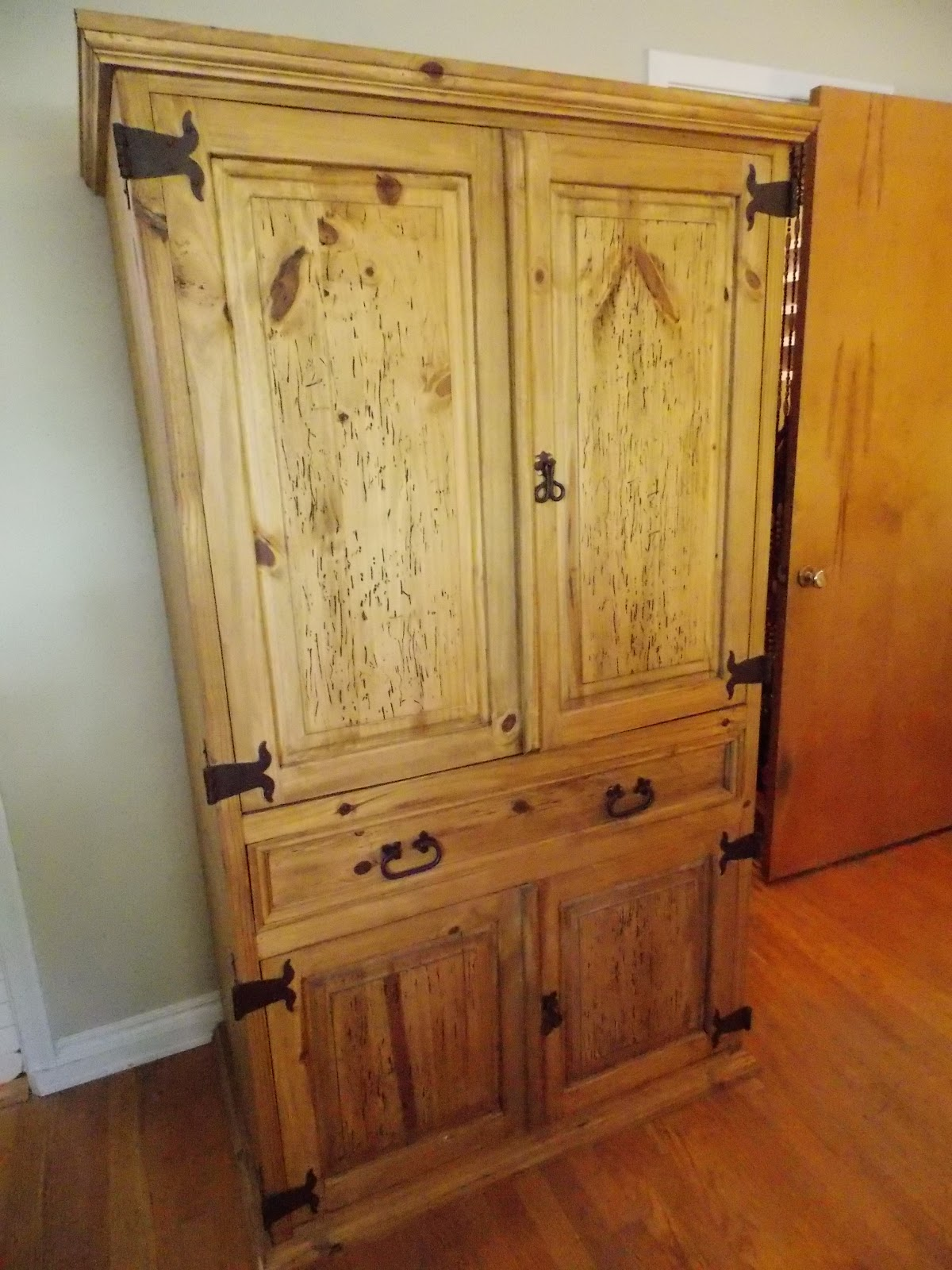 Keep Calm and KERRI On: My Garage Sale Find - an Armoire!