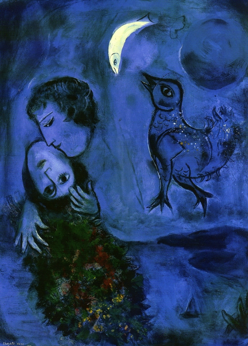 Hablando de arte marc chagall en el thyssen for Chagall tableau