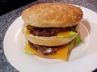 HAMBURGUESA BIG MAC CASERA