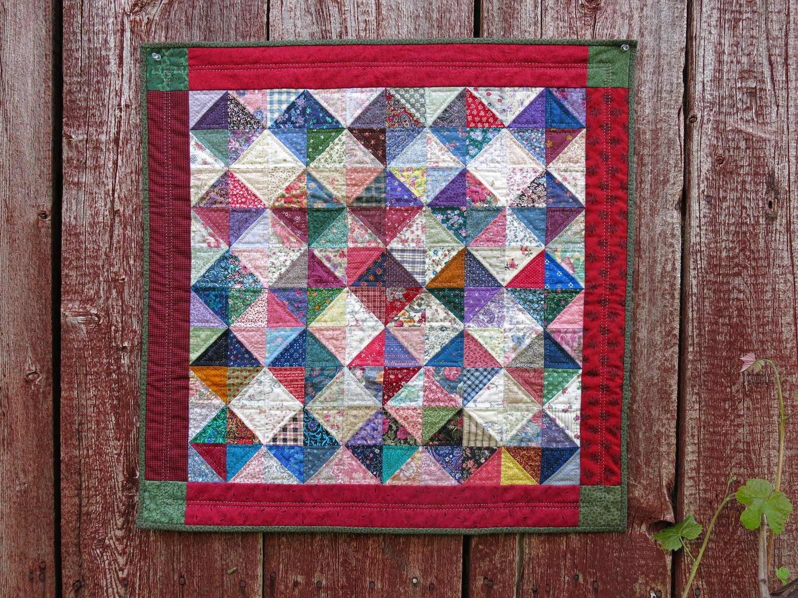 Friendship Charm Quilt