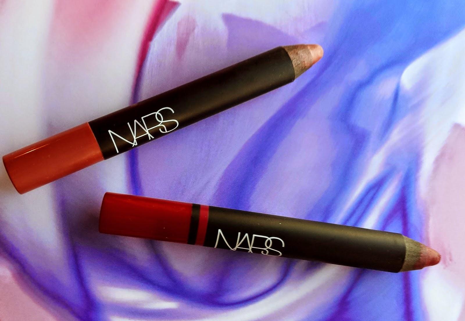 fabuleuse, toujours ¦ NARS Cosmetics Lip Pencils in Palais Royal and Bahama