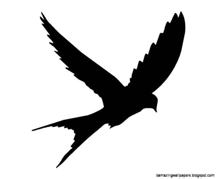Bird Silhouette Art