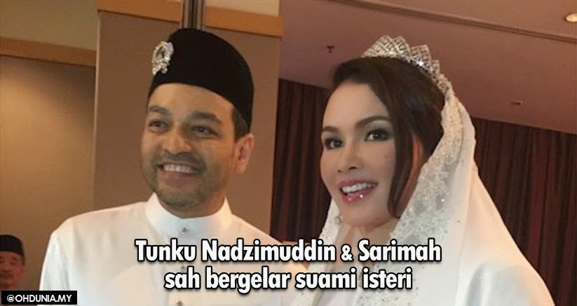 Sarimah Ibrahim, Tunku Jamie Selamat Bergelar Suami Isteri (4 Foto)
