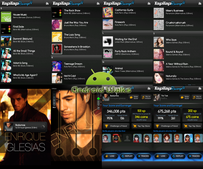Download tap tap revenge 4 for android free this is one of best android games, download it now free