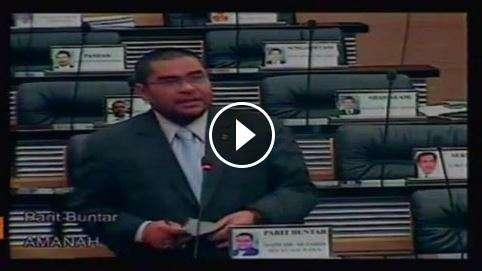 Hospital Baru Parit Buntar - YB Dr. Mujahid di Parlimen