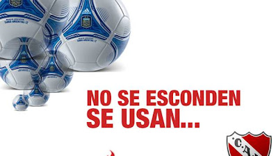 afiche Independiente sobran pelotas