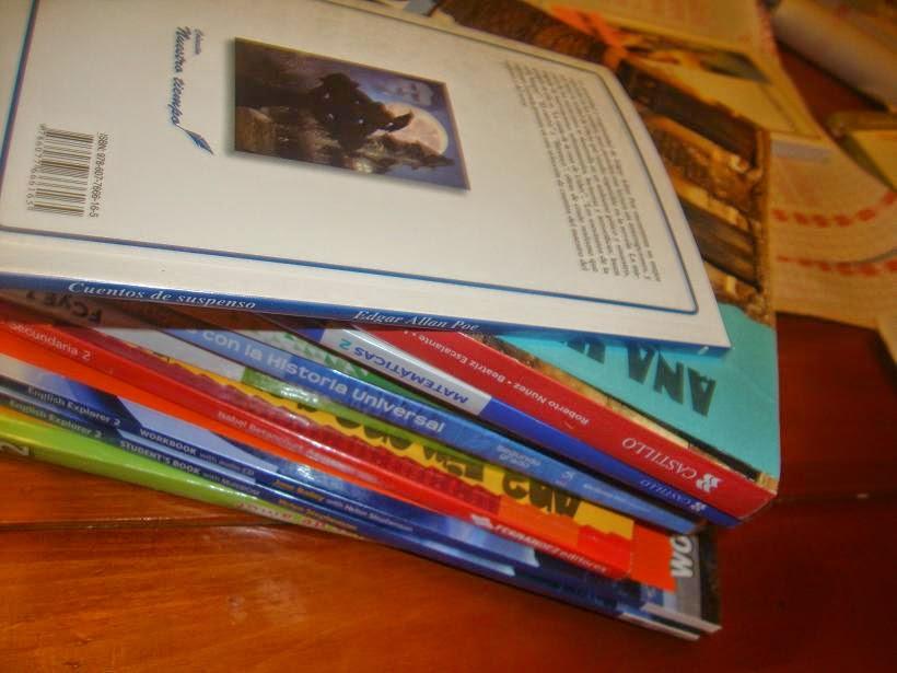 paso a paso forrar libros con papel contact