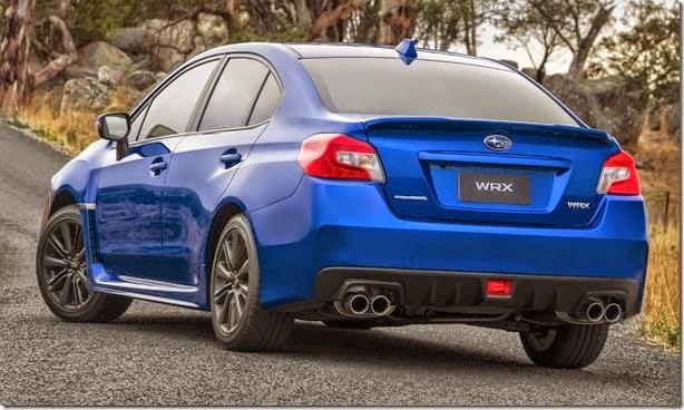 novo Subaru WRX e WRX STI