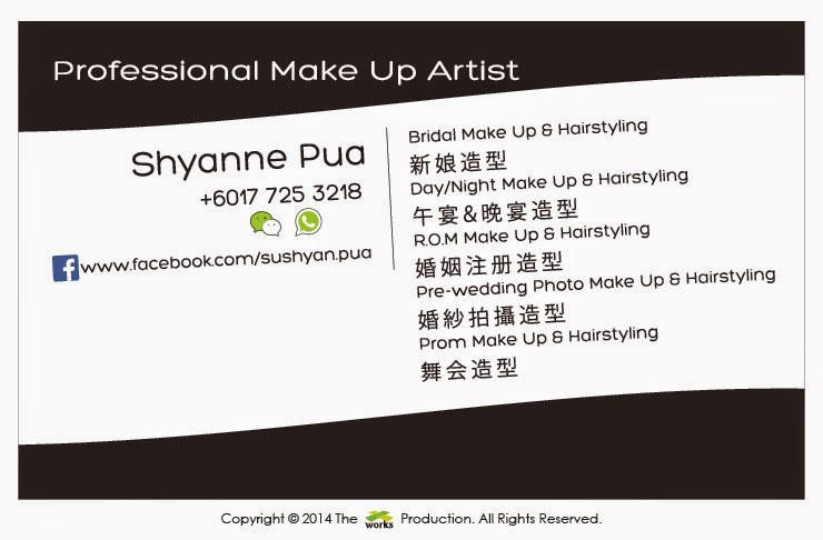 frosted plastic card, professional make up artist, make up, hairstyling