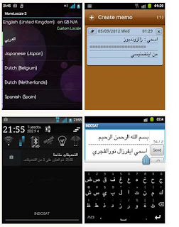 Arabic Language Pack DXLF1 Firmware for Samsung galaxy Y