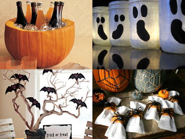 Fiestas con encanto ideas para decorar tu buffet de halloween for Ideas sencillas para decorar mi casa