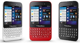 BlackBerry Q10 Lineup