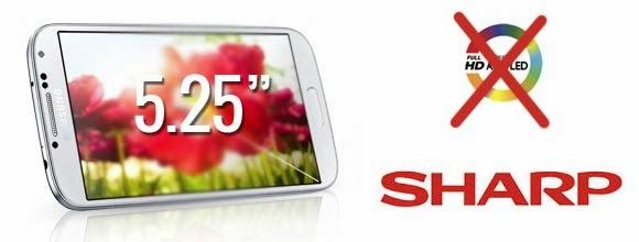 Samsung Galaxy S5 için Sharp'ın 2K Ekran Panelini Kullanabilir