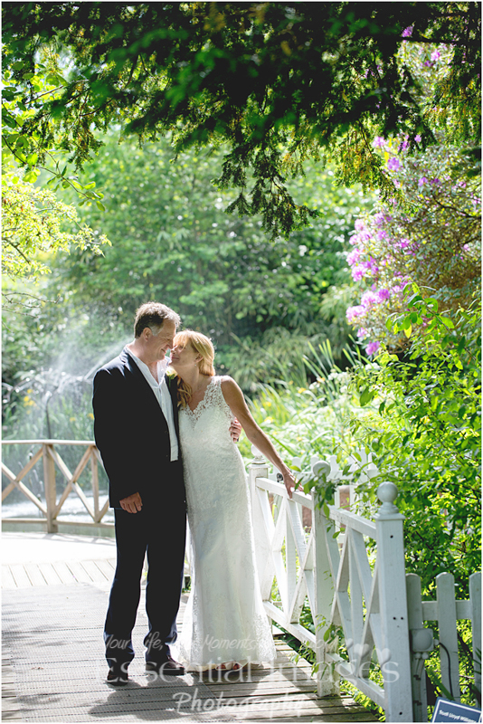 The Mill at Gordleton was the venue for this lovely bride and groom