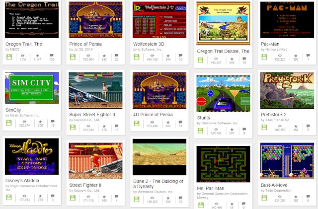 Mate a saudade de jogos antigos conhecendo este museu com milhares de games antigos gratis e online!