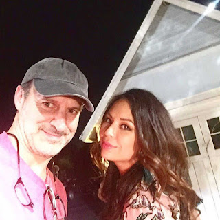PLL BTS 6x19 Janel Parrish and director Roger Kumble