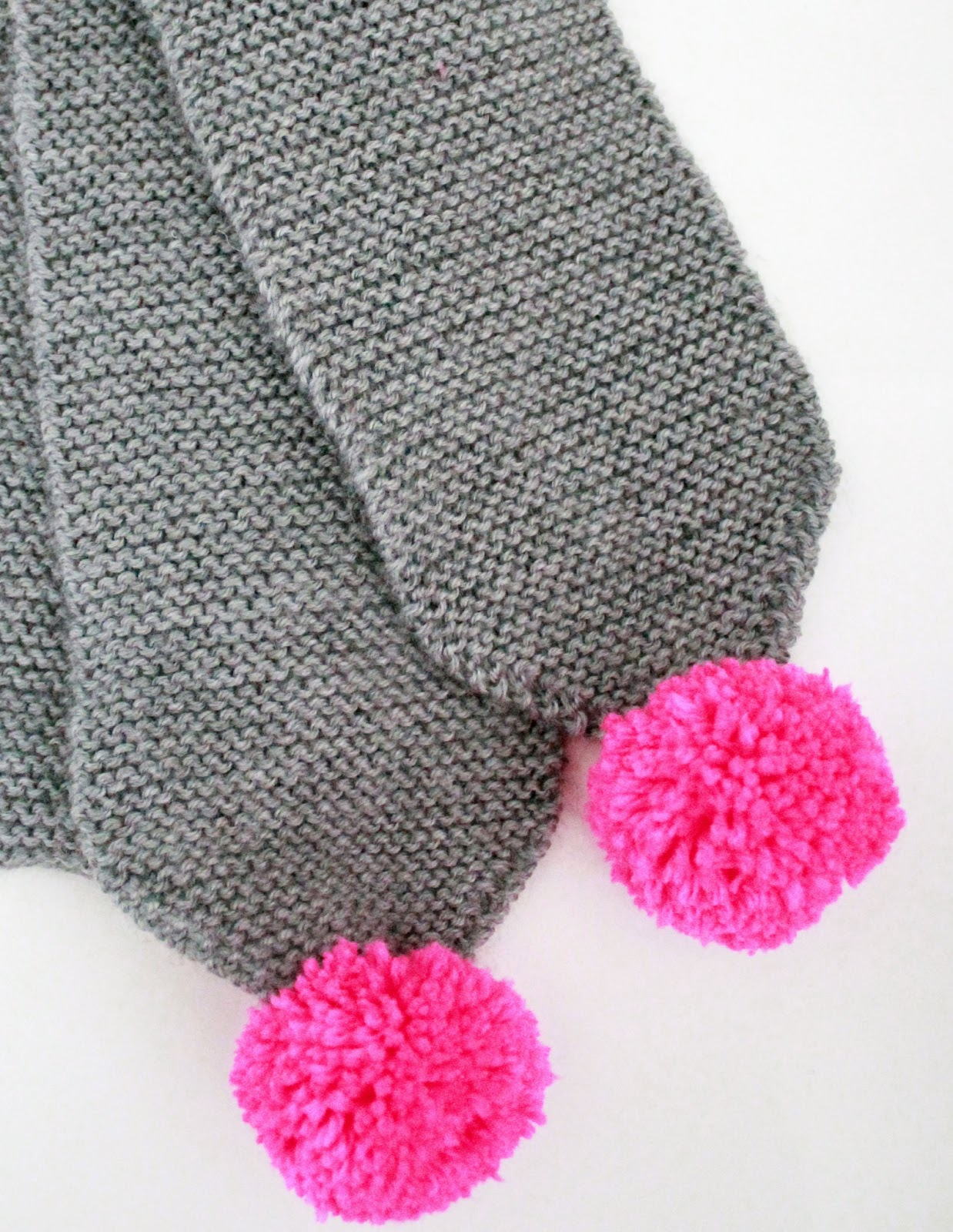 maker*land.: Easy kids\' pom pom scarf