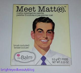 theBalm Meet Matt(e) Meet Matte