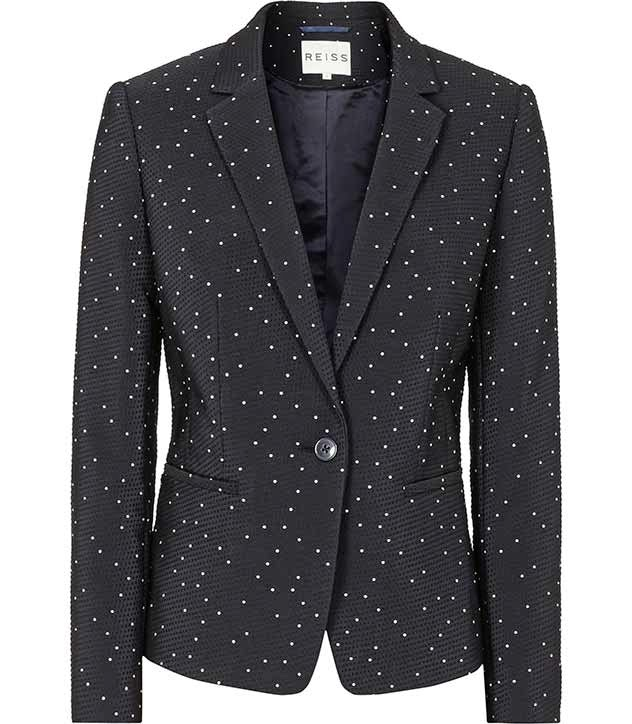 perfect blazer to disguise scalp psoriasis
