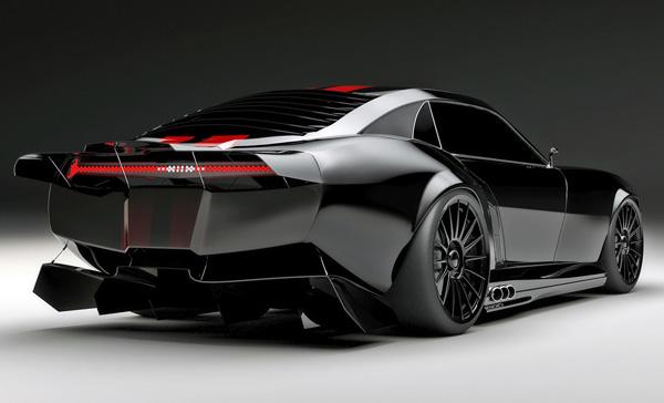 Pontiac Firebird TT Black Edition Concept side rear