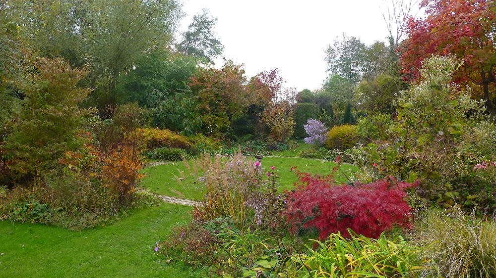 Le jardin de brigitte alsace suite de la ballade d for Jardin octobre 2015