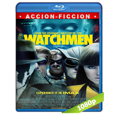 Watchmen Los Vigilantes (2009) BRRip Full 1080p Audio Trial Latino-Castellano-Ingles 5.1