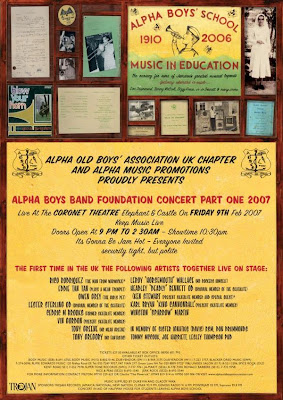 Alpha Boys Band Foundation Concert Part One flyer