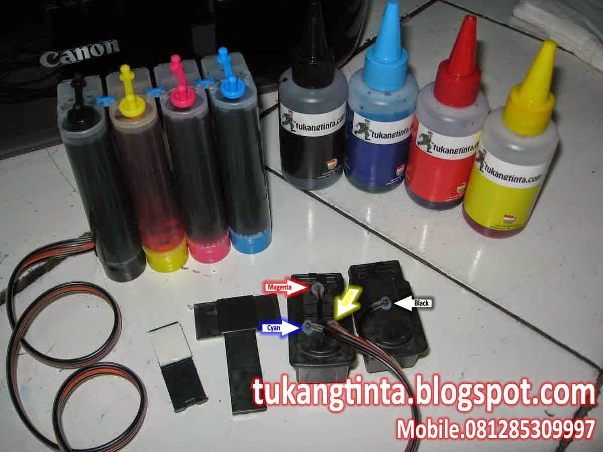 Pusat Modifikasi Printer Infus Cara Pasang Instalasi Selang 4 Jalur Http