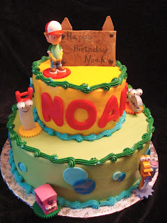 Beautiful Handy Manny Birthday Cake