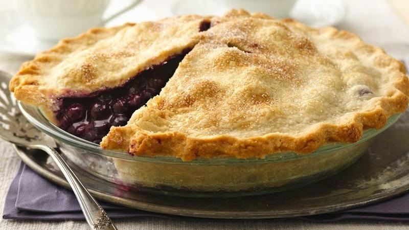 BLUEBERRY PIE RECIPES: Classic Blueberry Pie