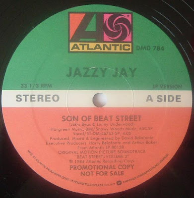 Jazzy Jay / La La ‎– Son Of Beat Street / Into The Night (VLS) (1984) (320 kbps)