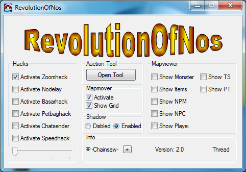 Nostale Hile RevolutionOfNos Basar Tool Oyun Botu indir &#8211; Download