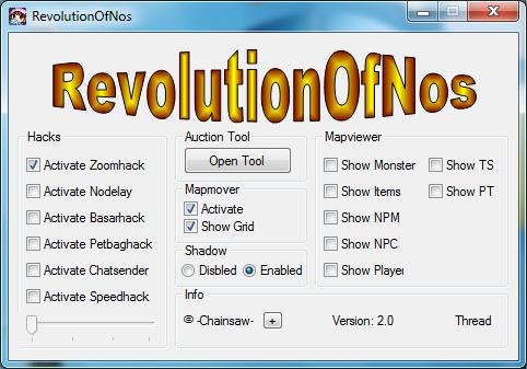 TVbbe Nostale Hileleri RevolutionOfNos Basar Tool Oyun Botu v07.06.13 indir