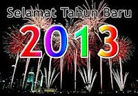 tahun baru 2013, rencana baru blognoler, semangat baru