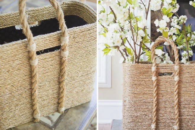 the rope bag with vintage style | Vietnam Outdoor Furniture