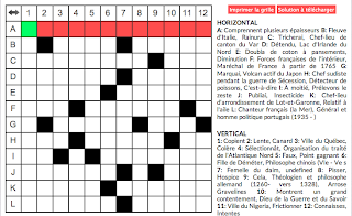 French crossword