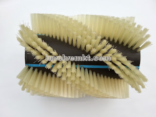 roller brush spiral pattern. spazzole