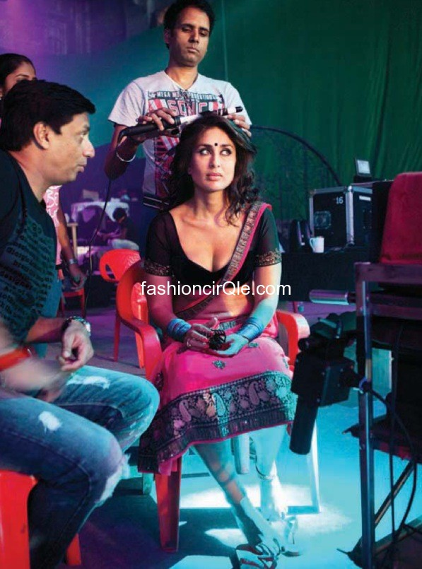 Kareena Kapoor Halkat Jawani On the set real life pic - Kareena Kapoor on the sets of Halkat Jawani - Unseen Pics
