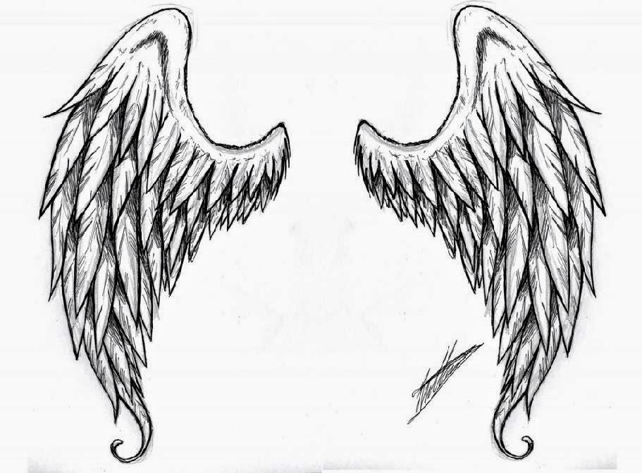 Simple Angel Wing Tattoos Design Angel Wings Tattoos Designs