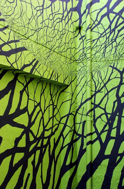 Street Art By Pablo S. Herrero for Camino de los Prodigios On the streets of Villanuva Del Conde, Spain 6