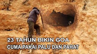 Bapak ini seumur hidupnya hanya menggali tanah