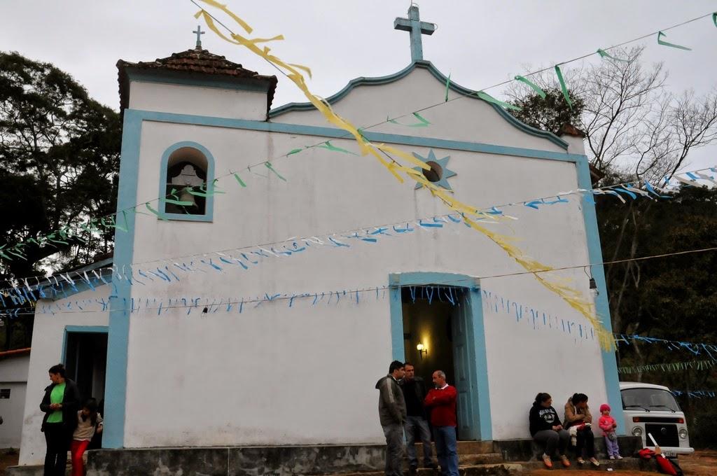 Construída em 1712, a Paróquia de Santa Rita de Cássia é a primeira igreja católica de Teresópolis