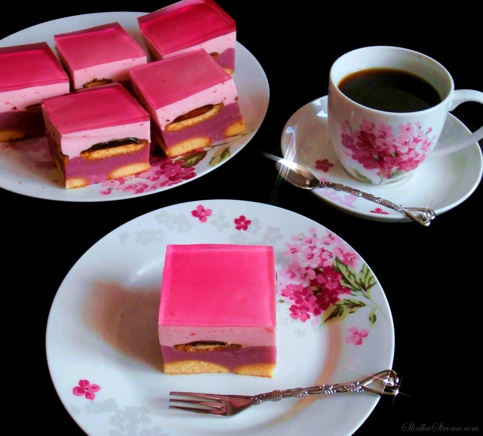"""Ciasto """"Fiona"""" - Przepis - Słodka Strona"""