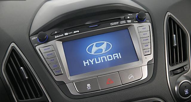 Novo Hyundai ix35 2016 - interior - painel
