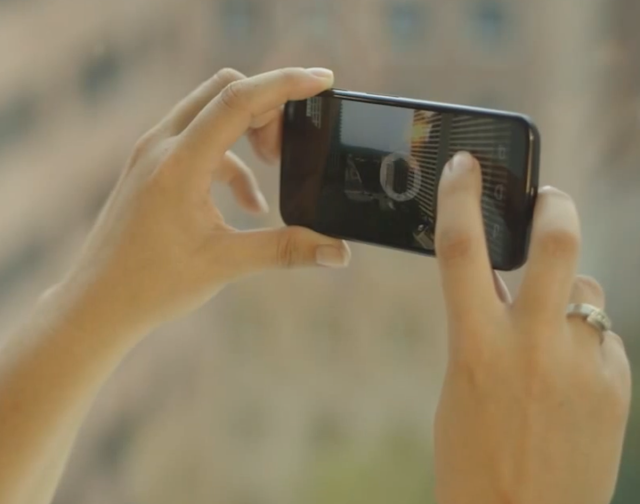 Moto X kamera