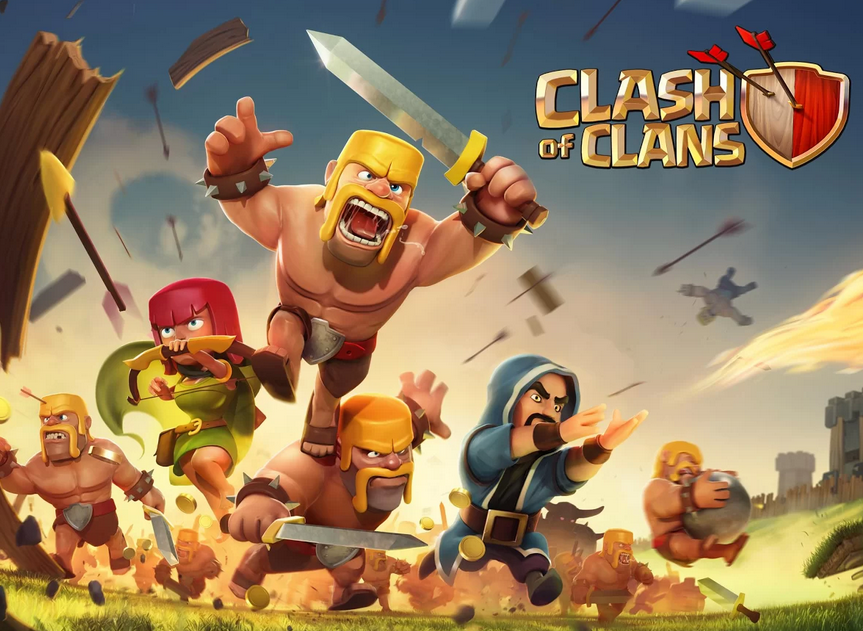 clash of clans red download android