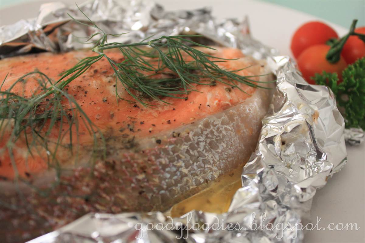 Goodyfoodies recipe easy oven baked salmon trout asian western goodyfoodies forumfinder Images