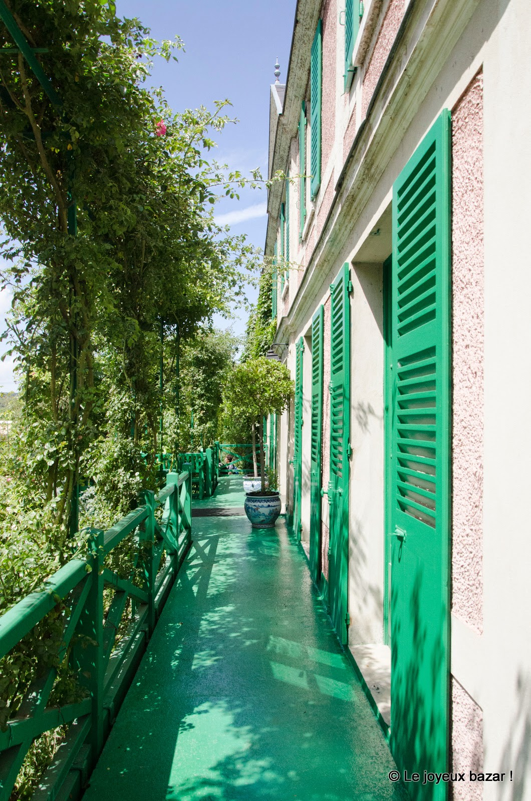 Giverny - maison de Monet