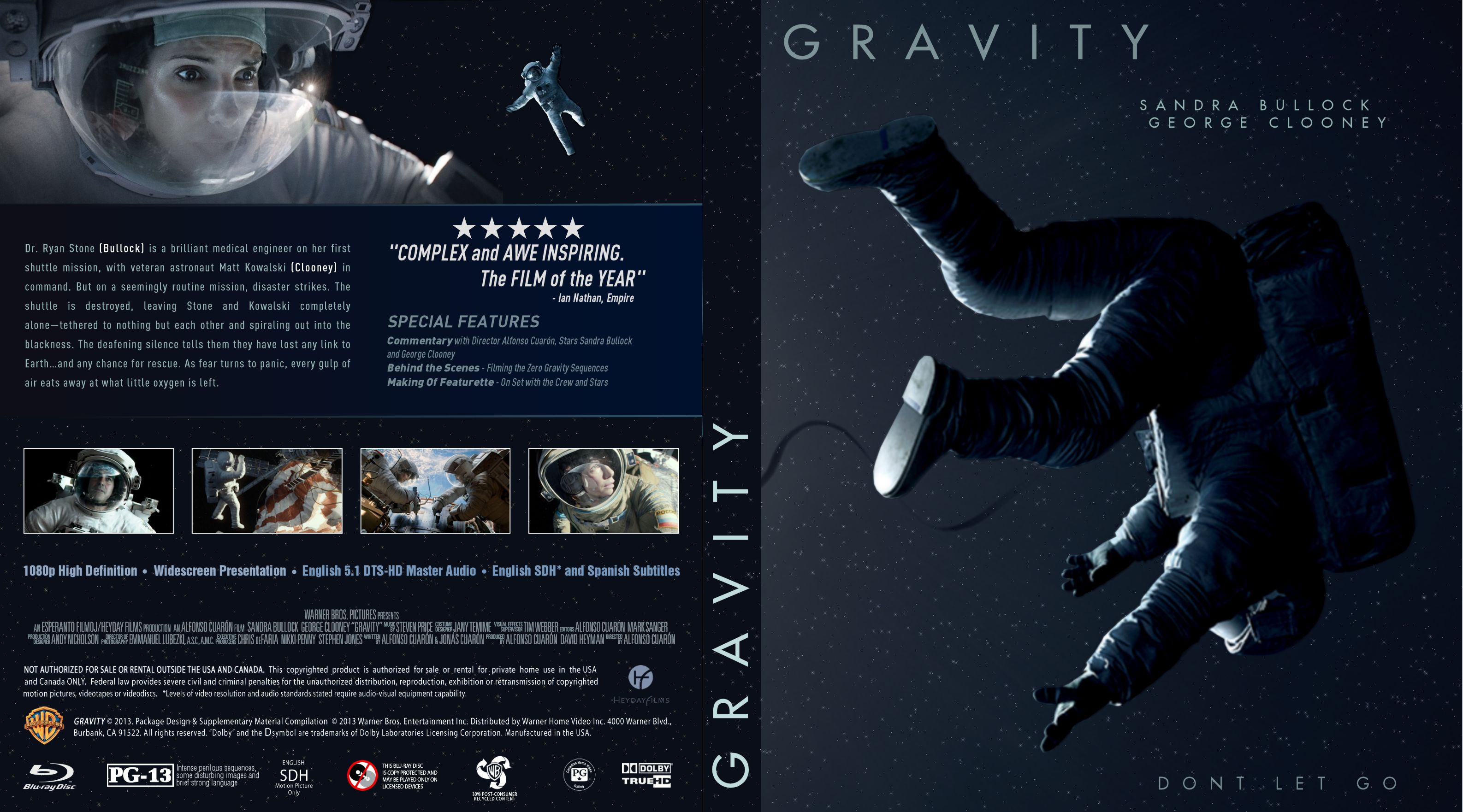 Capa Bluray Gravity